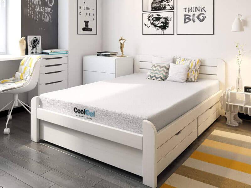 Classic Brands Cool Gel Ventilated Memory Foam 8-Inch Mattress best mattresses for kids