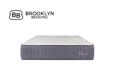 brooklyn bedding bloom hybrid mattress small