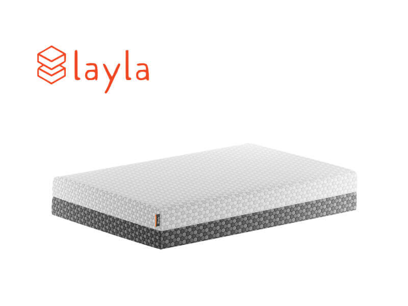 Layla flippable mattress