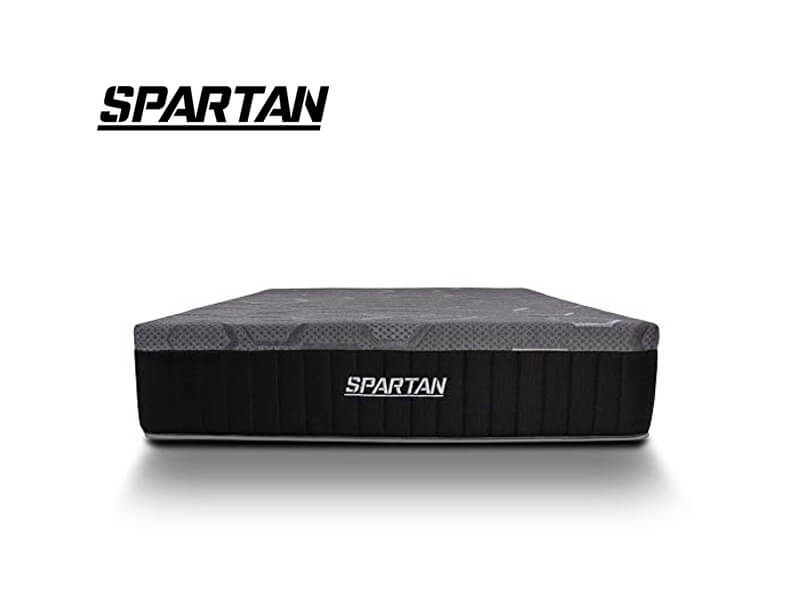 brooklyn bedding spartan hybrid mattress for heavy people