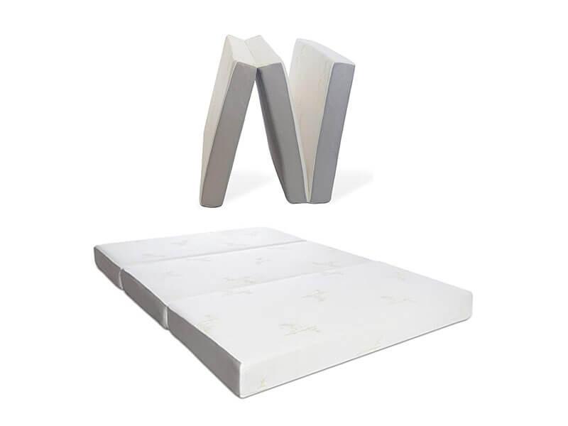 Milliard Memory Foam Tri-Fold Floor Mattress