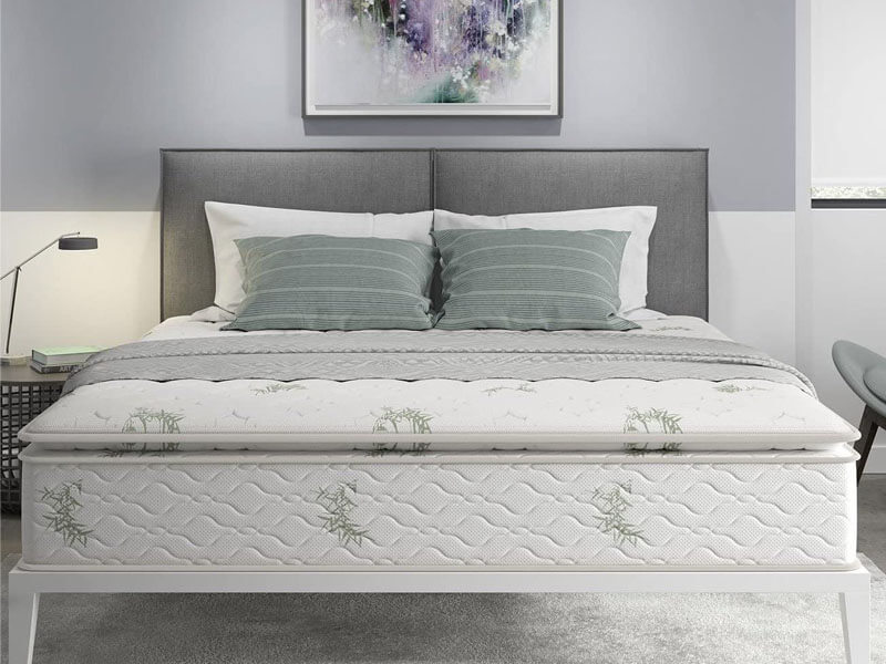 Signature Sleep 13-Inch Hybrid Bamboo Mattress