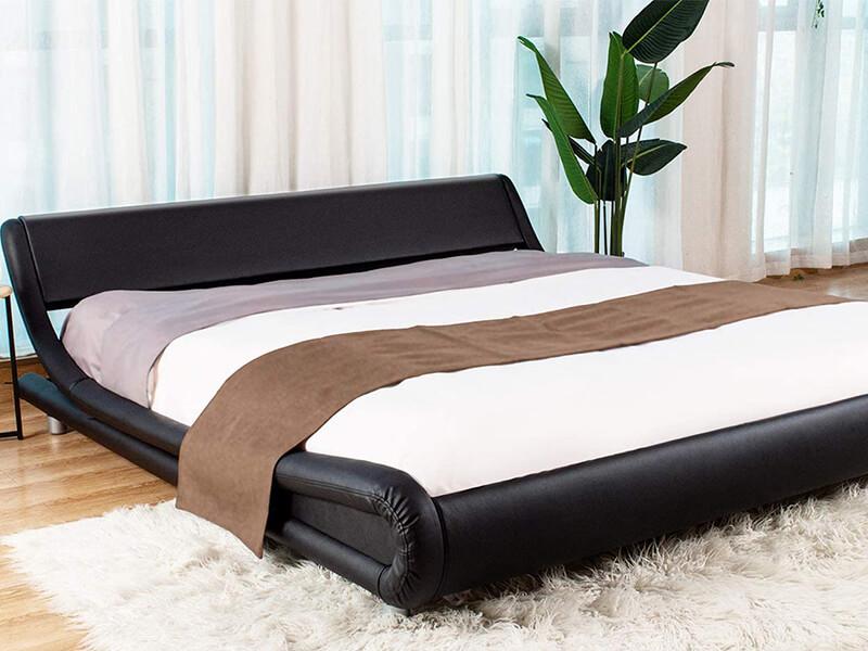 Amolife Upholstered Bed Frame