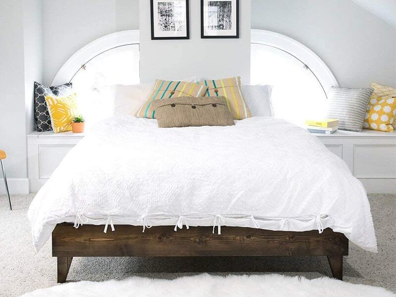 CARDINAL CREST Modern Wood Bed Frame