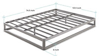 Mellow Metal Platform Bed Frame preview