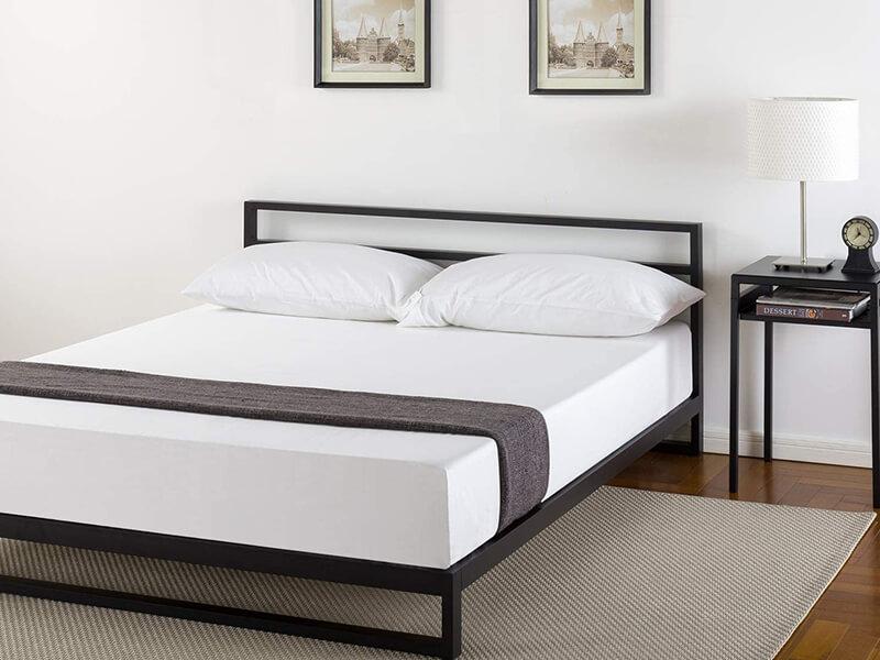 Zinus Trisha Platform Bed Frame with Headboard