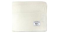 Melange Home Waffle Weave Merino Wool Blanket preview
