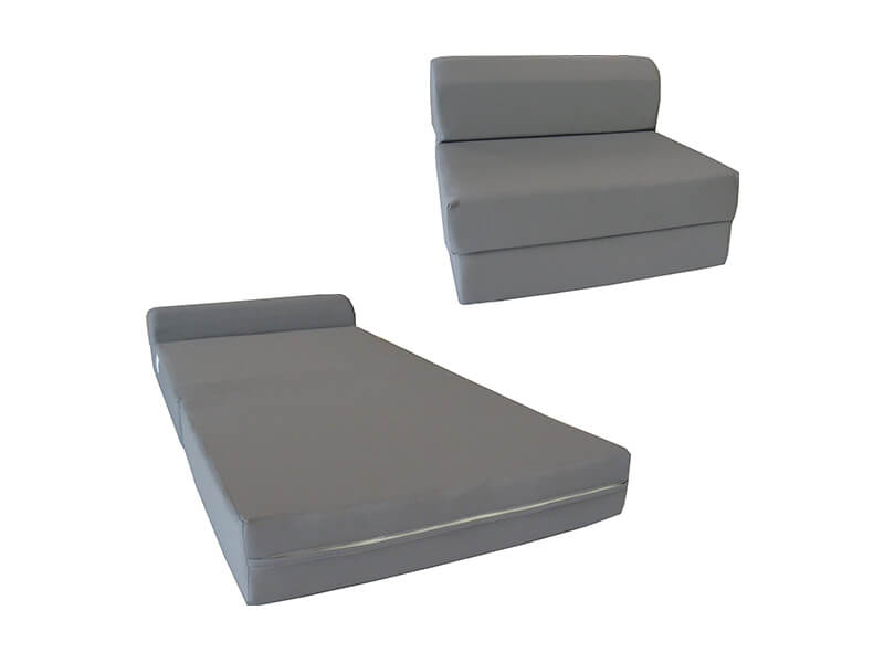 D&D Futon Sleeper Chair Folding Foam Bed