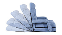 Giantex Folding Lazy Sofa with Massage Pillow preview