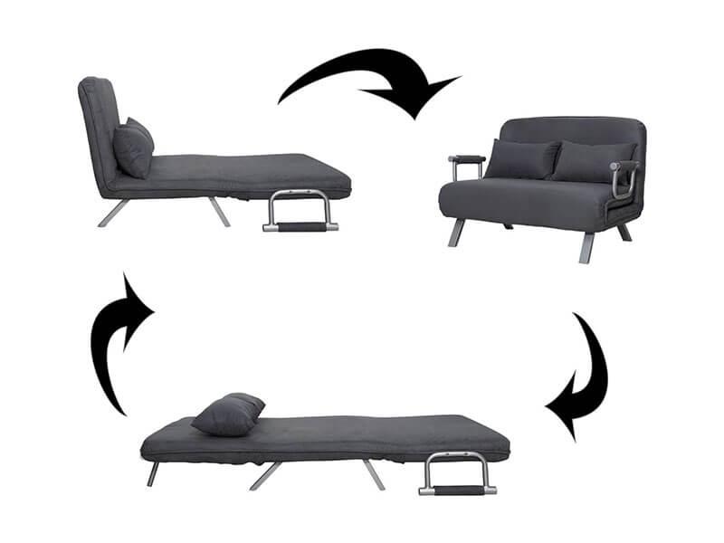 HomCom Sofa Couch