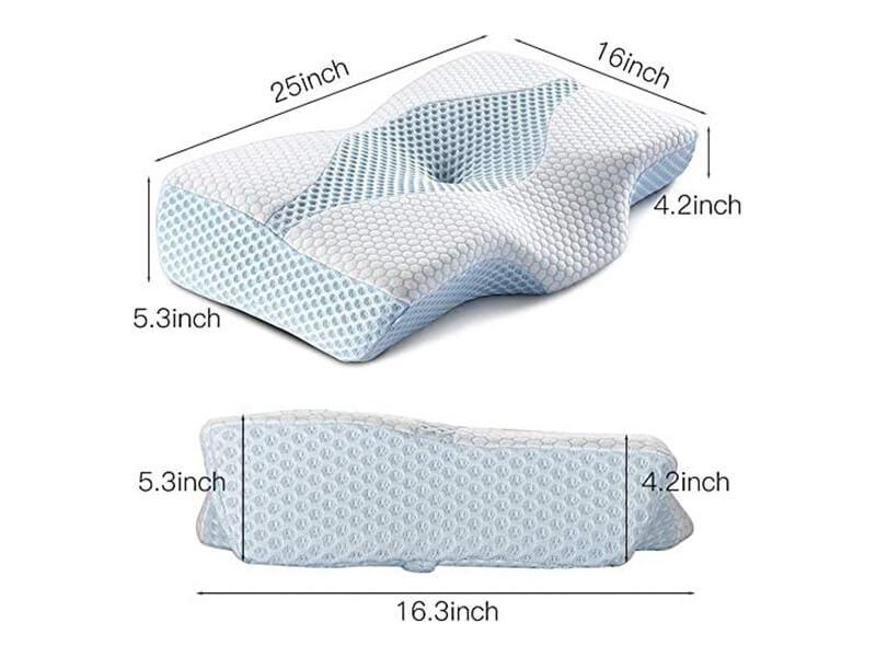 Mkicesky Side Sleeper Contour Memory Foam Pillow