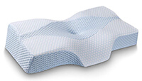 Mkicesky Side Sleeper Contour Memory Foam Pillow small